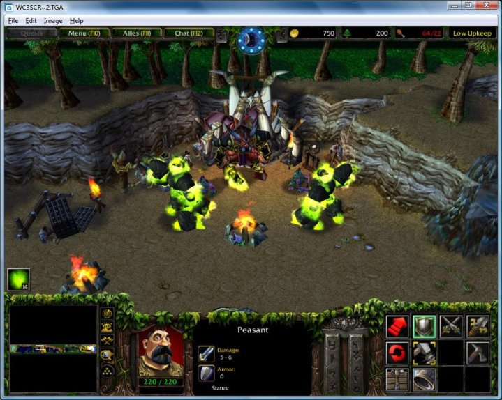Warcraft 3 editor screens maxknerler here are a few screenshots from a custom map and a model test in the warcraft 3 editor gumiabroncs Image collections